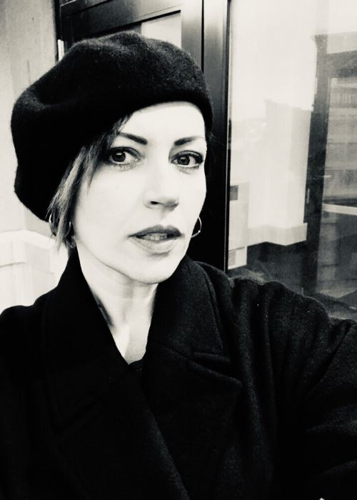 Dagmara Domińczyk as seen on her Twitter Profile in January 2019