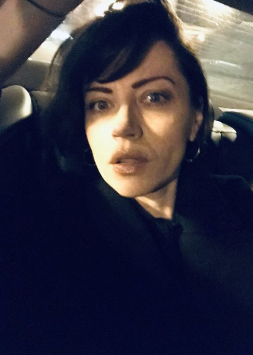 Dagmara Domińczyk in another Twitter Selfie in January 2019