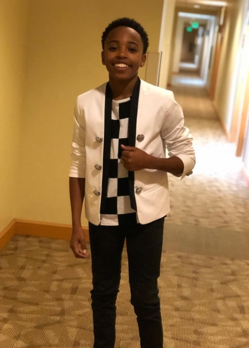 Dallas Dupree Young as seen in a picture taken in March 2019