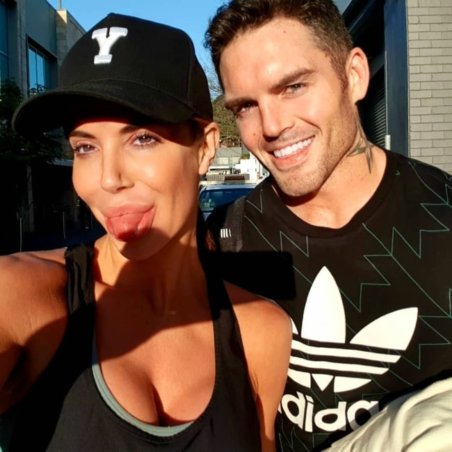 Daniel Conn as seen in a Saturday morning selfie with Ellice Whichello in August 2018