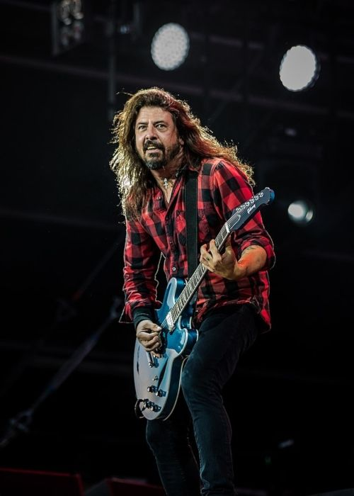 Dave Grohl performing at the German Music Festival Rock am Ring in 2018