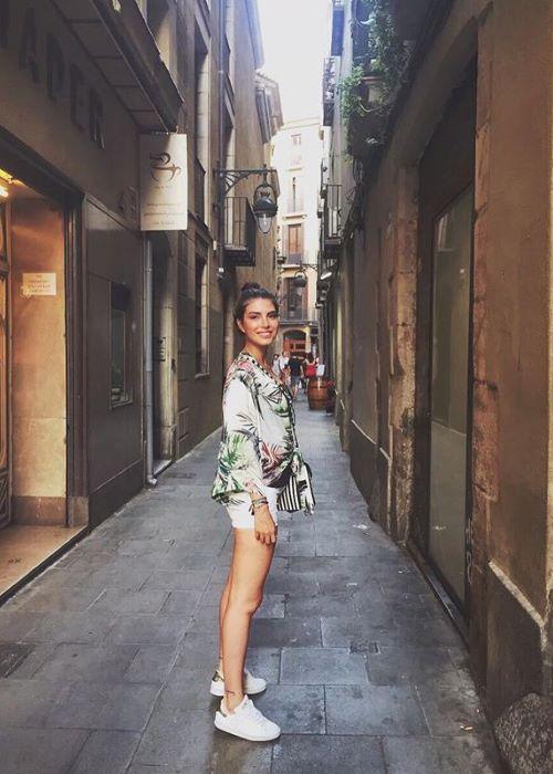 Deniz Baysal as seen on her Instagram in July 2017
