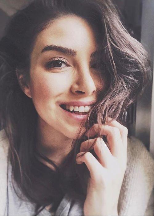 Deniz Baysal in an Instagram selfie in March 2019