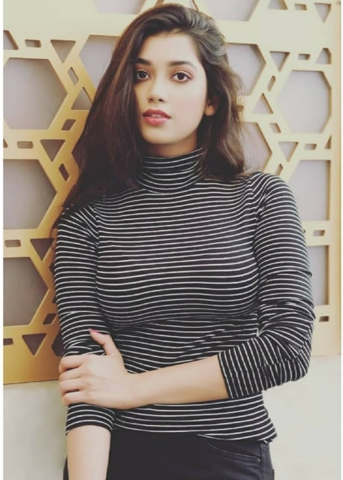 Digangana Suryavanshi as seen in a picture taken in April 2019