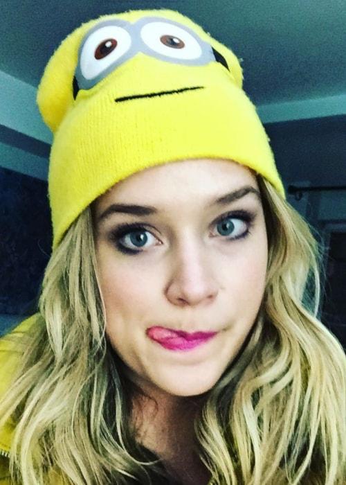 Elizabeth Lail as seen in a selfie taken in November 2015