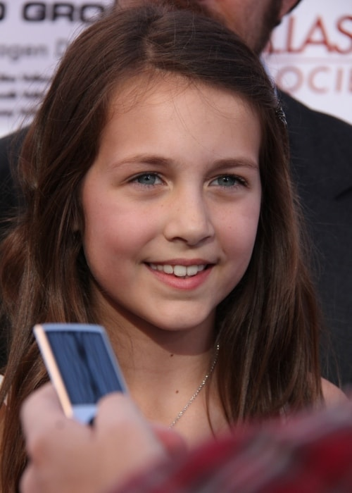 Emma Fuhrmann as seen in a picture taken at the Dallas International Film Festival (DIFF) in 2012