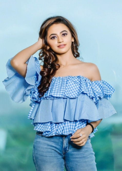 Helly Shah as seen in a picture taken in July 2018