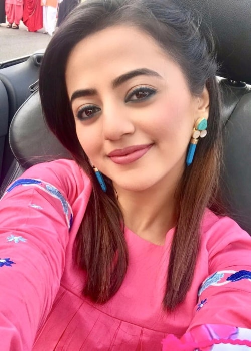 Helly Shah as seen in a picture taken in March 2019