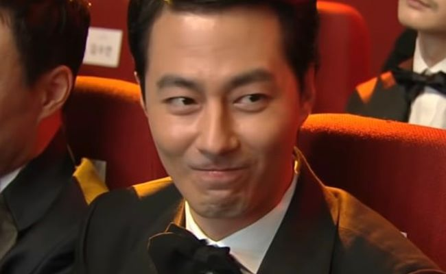 Jo In-sung at The 38th Blue Dragon Film Awards as seen on JoInSung3DHouse VN Channel on YouTube