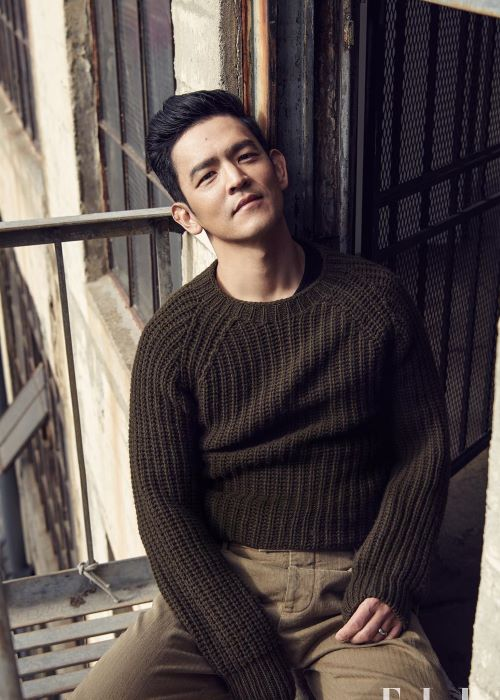 John Cho as seen on his Instagram in October 2018