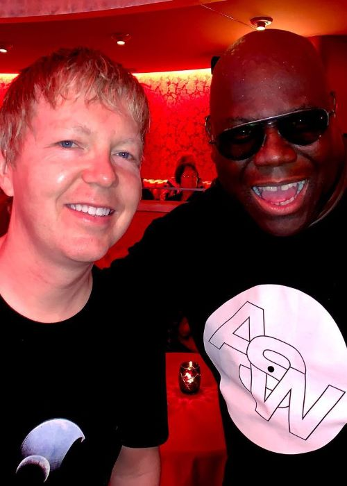 John Digweed with Carl Cox in March 2019