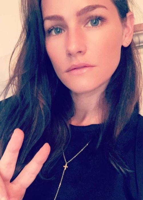 Kelly Overton as seen in a selfie taken in Arlington, Texas in July 2016