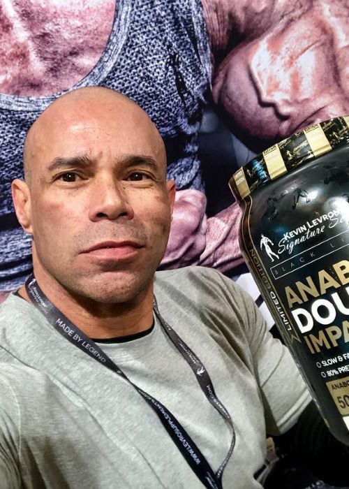 Kevin Levrone in another Instagram Selfie in March 2019
