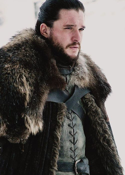 Kit Harington in Game of Thrones as seen on his Instagram in April 2019