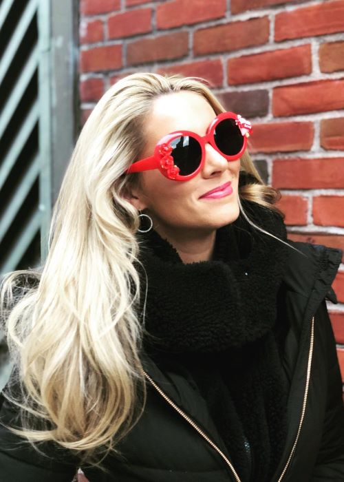 Laura Rutledge as seen on her Instagram Profile in February 2019