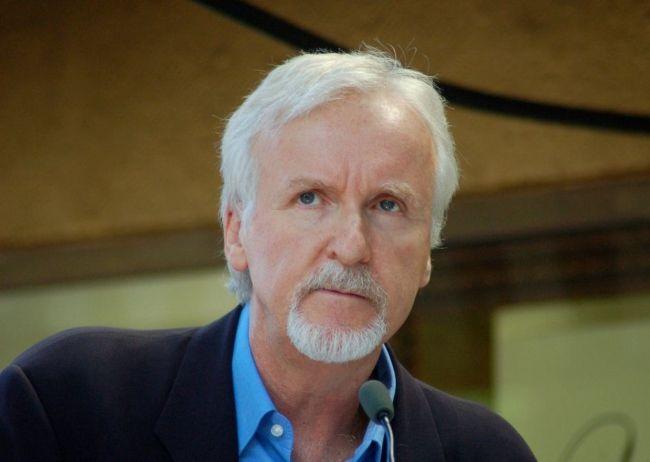 Legendary Director James Cameron as seen in October 2012