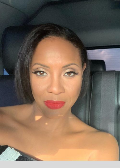 MC Lyte in an Instagram Selfie in March 2019