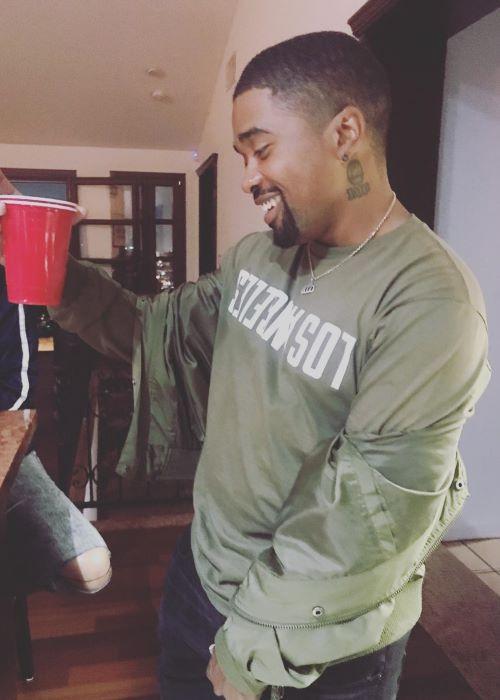 Mann as seen on his Instagram in September 2018