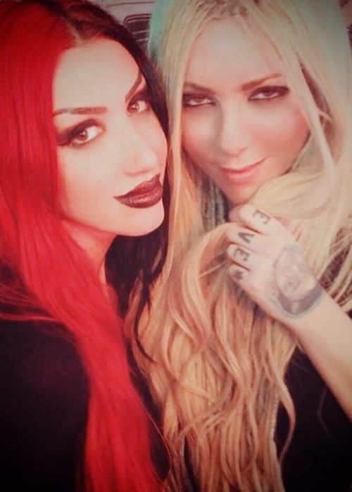 Maria Brink with Ash Costello as seen on her Instagram in July 2018