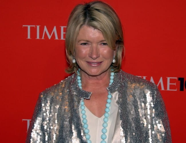 Martha Stewart as seen in May 2010