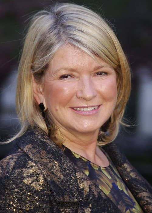 Martha Stewart at the Vanity Fair party celebrating the 10th anniversary of the Tribeca Film Festival in April 2011