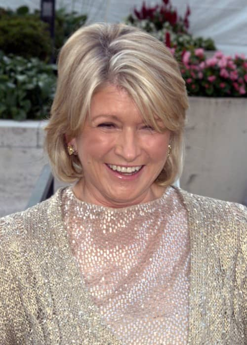 Martha Stewart during an event in January 2005