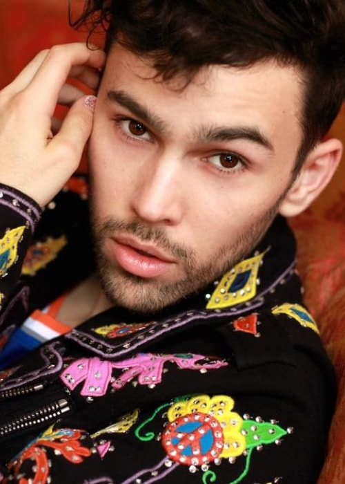 Max Schneider as seen in a picture taken in July 2018