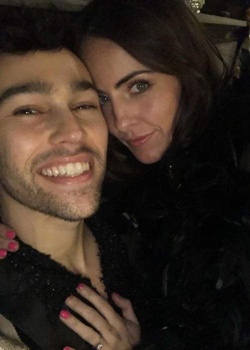 Max Schneider as seen in a selfie with Emily Cannon in November 2018
