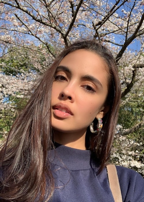 Megan Young as seen in a selfie taken in April 2019