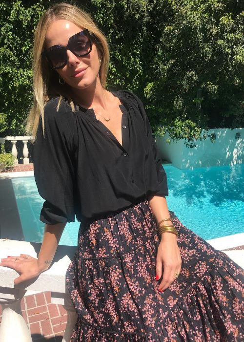 Monet Mazur as seen on her Instagram in September 2018