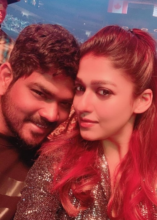 Nayanthara as seen in a selfie with Vignesh Shivan at The Cosmopolitan of Las Vegas in January 2019