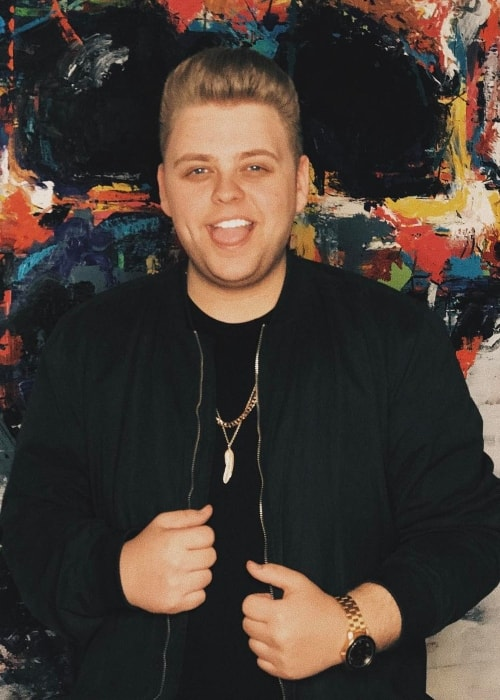 Nick Crompton as seen while posing for the camera at West Hollywood, California, United States in March 2017