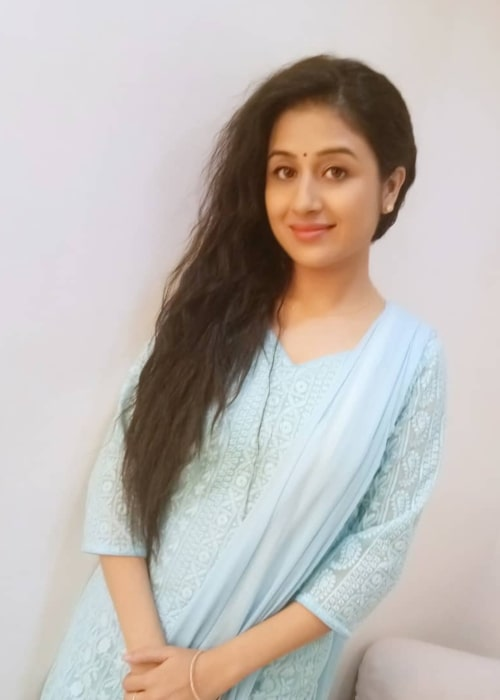 Paridhi Sharma as seen in a picture taken in January 2019