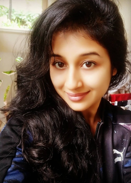 Paridhi Sharma as seen in a selfie taken in January 2019
