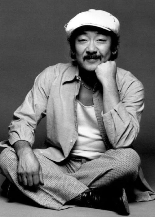 Pat Morita Posing for the ABC television series Mr. T and Tina in August 1976