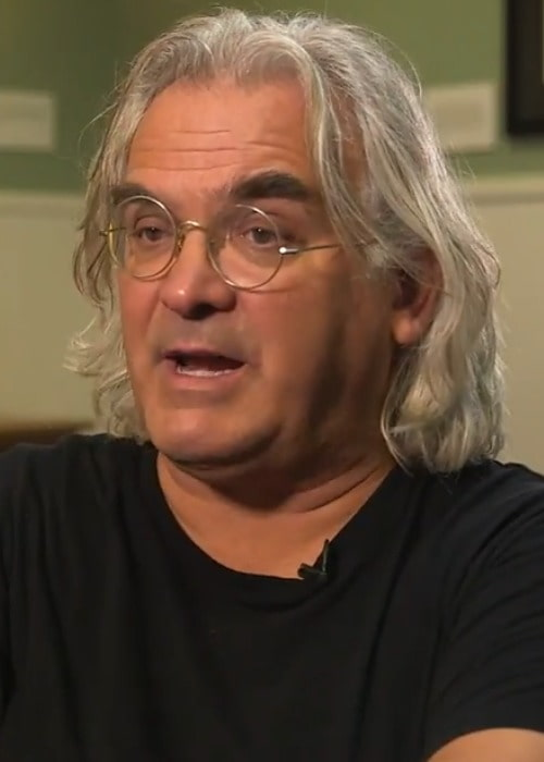 Paul Greengrass during an interview as seen in September 2017