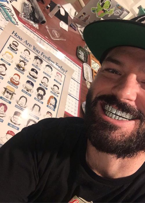 Paul Wall in an Instagram Selfie in January 2019