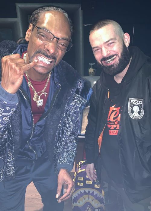 Paul Wall with Snoop Dogg as seen on his Instagram Profile in February 2019