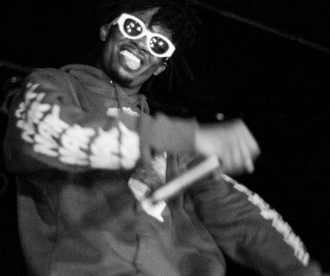 Playboi Carti as seen while performing at an event in November 2016