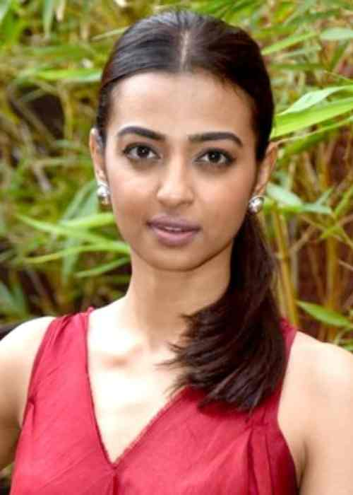 Radhika Apte at a promotional event for the film Kaun Kitne Paani Mein in 2015