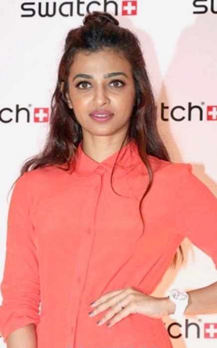 Radhika Apte at the Swatch store launch in 2016