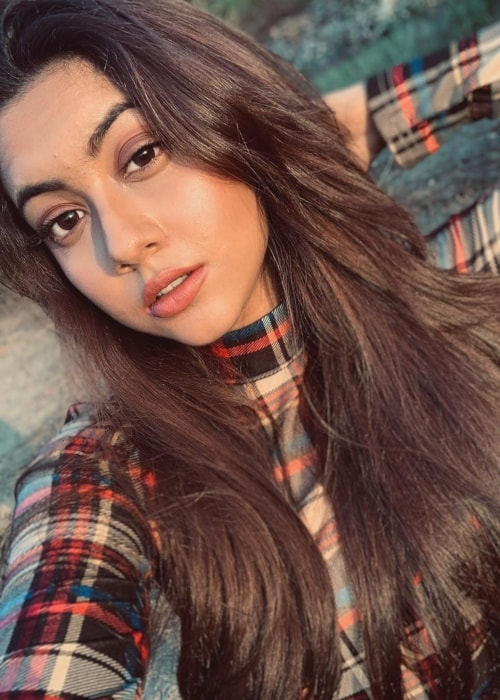 Reem Shaikh as seen in a selfie taken in March 2019