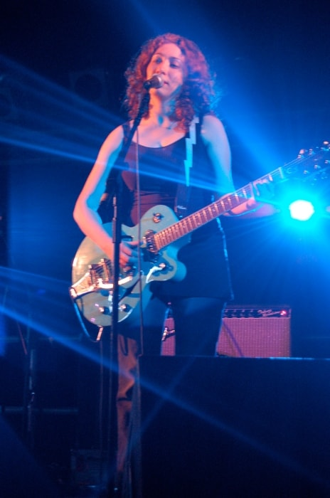 Regina Spektor as seen while performing in a concert in July 2006