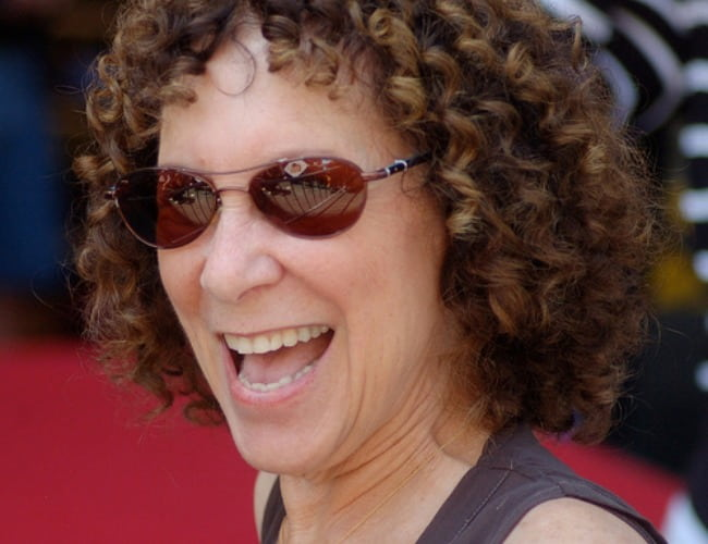 Rhea Perlman at a ceremony for Danny DeVito to receive a star on the Hollywood Walk of Fame in August 2011