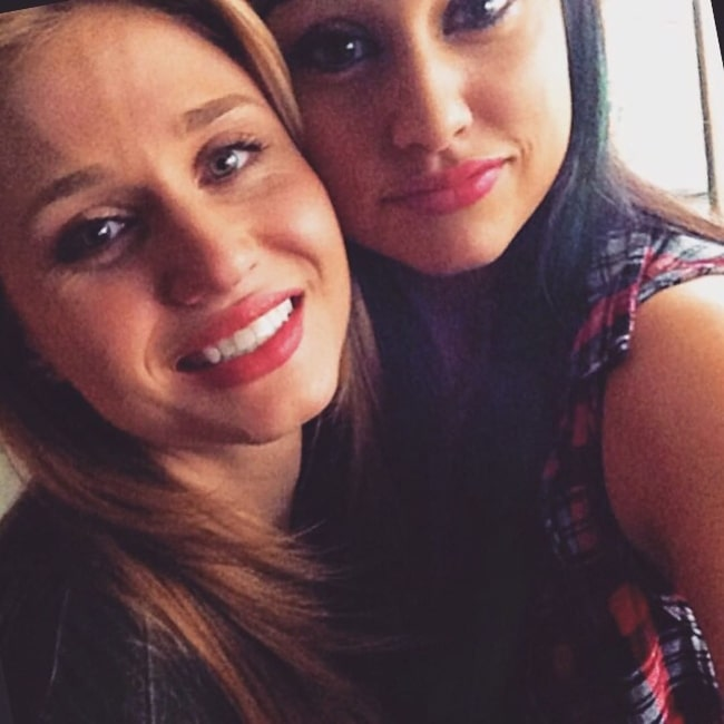 Rita Volk as seen in a selfie with Yvette Monreal