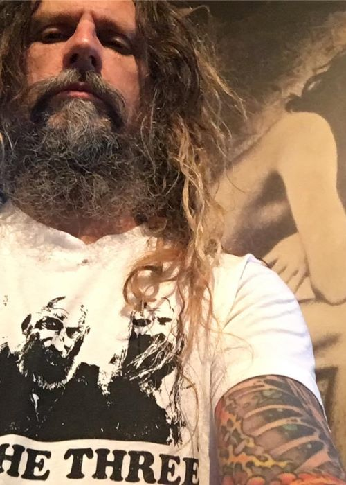 Rob Zombie in an Instagram Selfie in November 2018