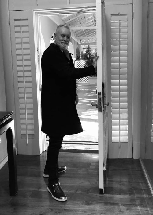 Roger Taylor as seen on his Instagram in February 2019