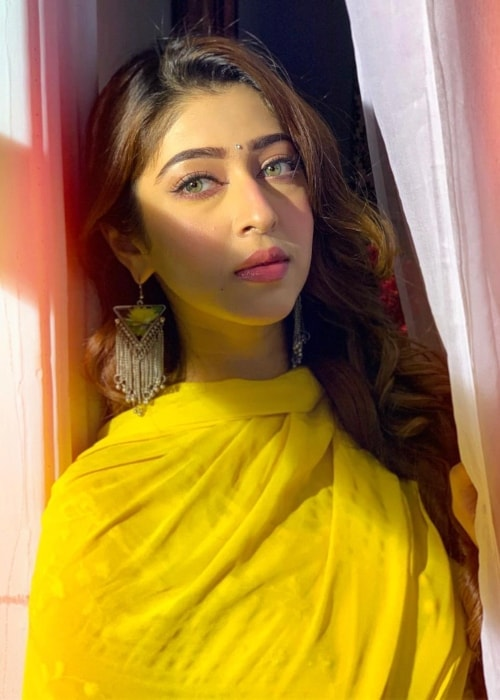 Sonarika Bhadoria as seen in a picture taken in April 2019