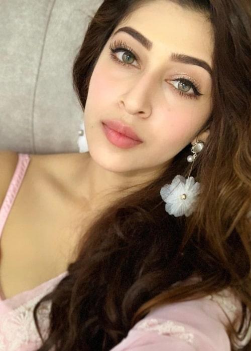 Sonarika Bhadoria as seen in a selfie taken in November 2018