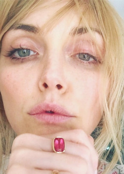 Sophie Dahl in an Instagram selfie as seen in July 2018